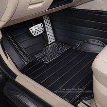 Ajuste personalizado esteras del piso del coche para Volkswagen Beetle CC Eos Golf Passat Tiguan Touareg sharan 3D car styling alfombra del piso liners