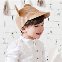 Summer Korean Version Of The Boys And Girls Cap Hat Baby Cartoon Big Ears Cool Breathable