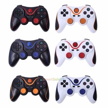 NEW Wireless Bluetooth Gamepad Joystick Vibration Shock Game Controller For PS3