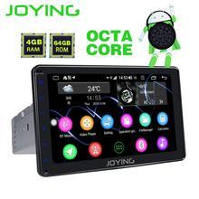 """JOYING Android 8.1 autoradio 1 din unità di testa stereo Octa Core 8 """"Schermo HD 4 GB di ram 64 GB di ROM supporto 4G DSP Split Screen SWC audio"""