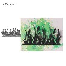 JC Metal Cutting Dies for Scrapbooking Cut Bush Shrubbery Grass Stencil Handmade Paper Card Make Model Decoration 2019 Die