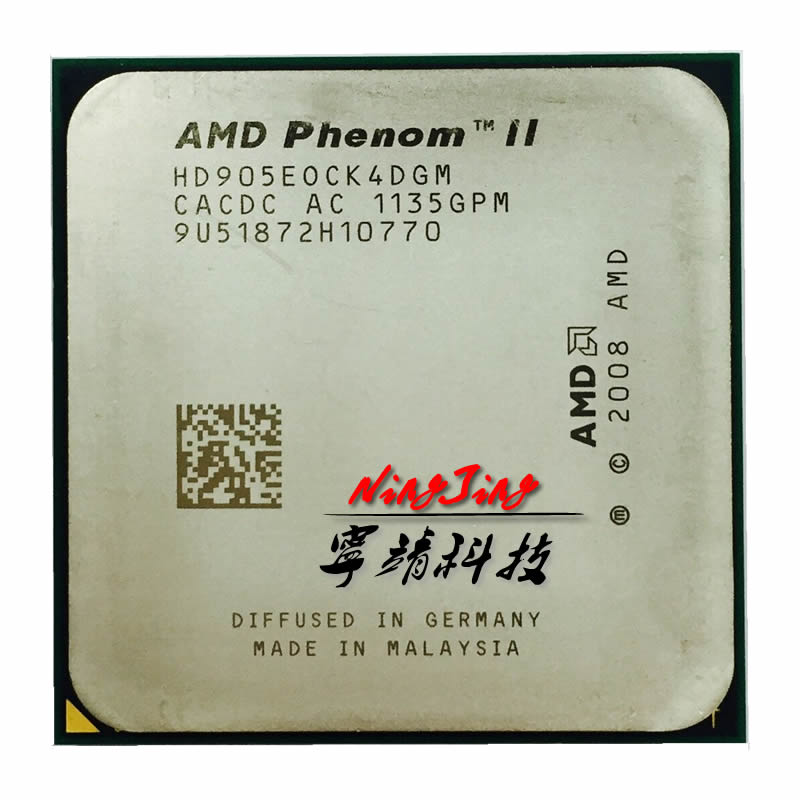 Четырехъядерный процессор AMD Phenom II X4 905e 905 E 2,5 GHz hd905eok4dgm/hd905eok4dgi Socket AM3|socket am3|phenom ii x4amd phenom ii x4 | АлиЭкспресс