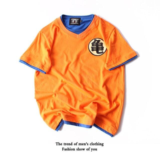 Gokus Training Tee T Shirt Dragon Ball Z Anime Kame Symbol Funny