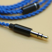 DIY ie800 headphone cable   Single crystal copper wires, 14 core X4 high-end   earphone cable