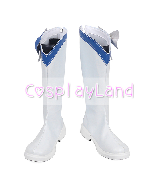 Anime magique fille Ore Cosplay bottes chaussures Mikage Sakuyo Cosplay Costume Mahou Shoujo Ore Sakuyo Mikage femmes chaussures accessoires