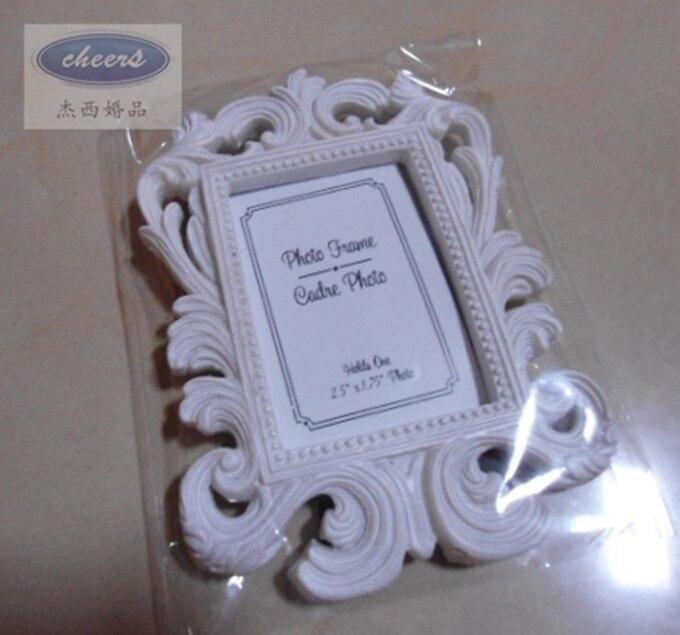 Cheap wholesale White Baroque photo frame 100PCS/LOT wedding place ...