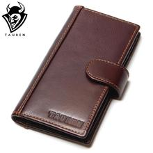 Brand RFID Blocking Credit Card Holder Men's Cow Leather Card Package Slim Genuine Leather Bank Card Case Business Card Wallet