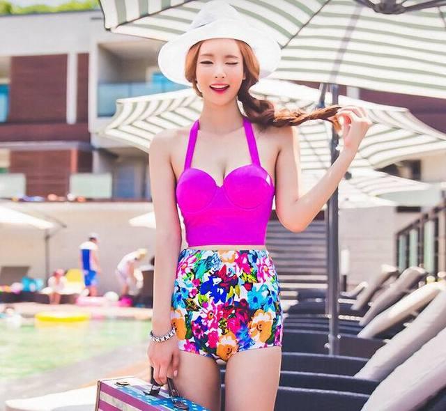 Sexy Alto Las 2016 Una Mujeres Bandeau Set Traje Bikinis De Lanzamiento Deportes Verano Baño Ocio Para Talle En Y Temporada Bikini R4L5Aj3