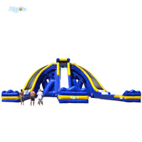 Biggors Large Inflatable Slide Giant Inflatable Water Slide For Adults