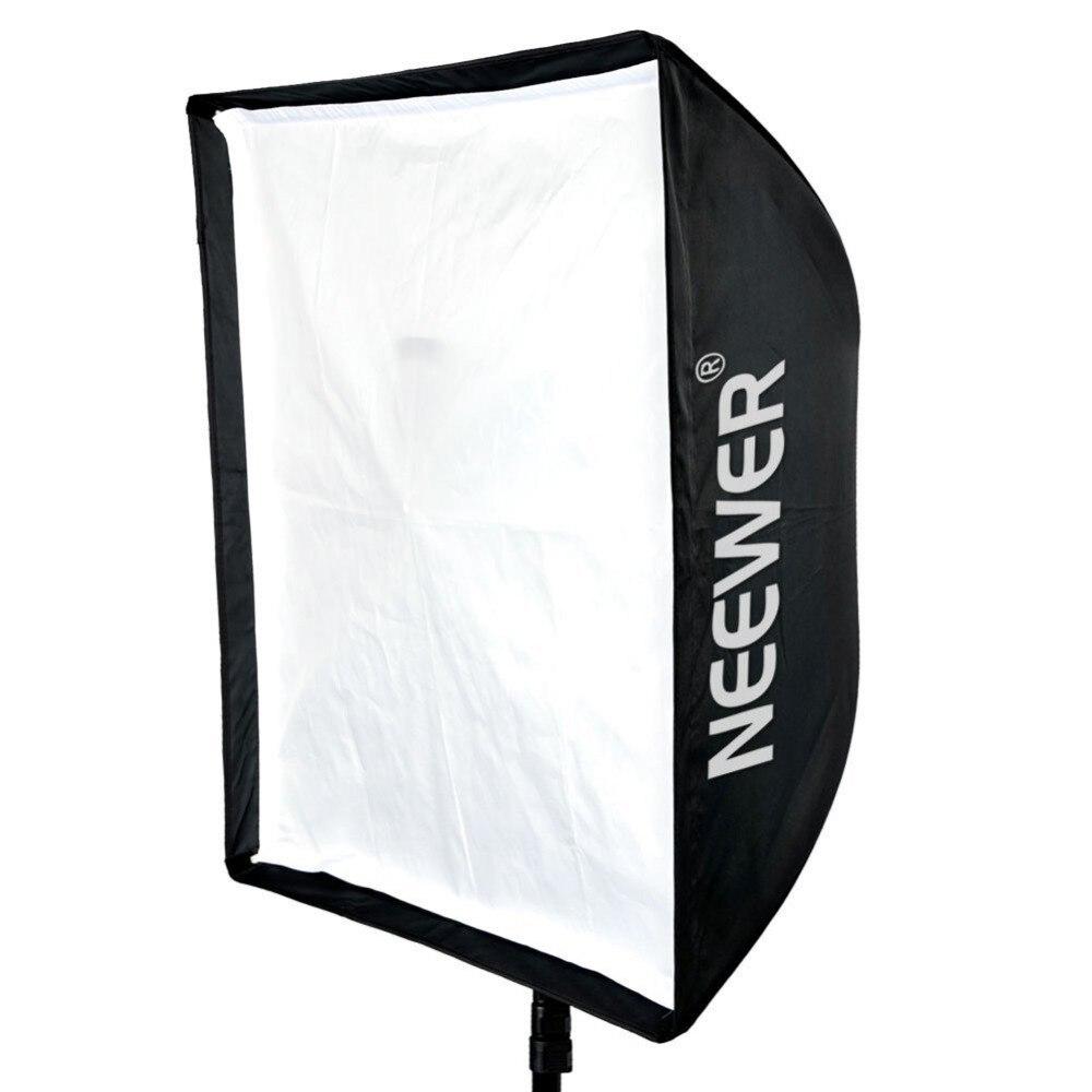 Neewer 24 X 24 60cm X 60cm Photography Speedlite Studio Flash Umbrella Softbox Carrying Bag for