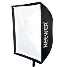 "Neewer 24 ""X 24""/60 cm X 60 cm Fotografia Speedlite Flash de Estúdio Guarda-chuva Softbox + Transporte saco para Canon/Nikon/Godox/Yongnuo"
