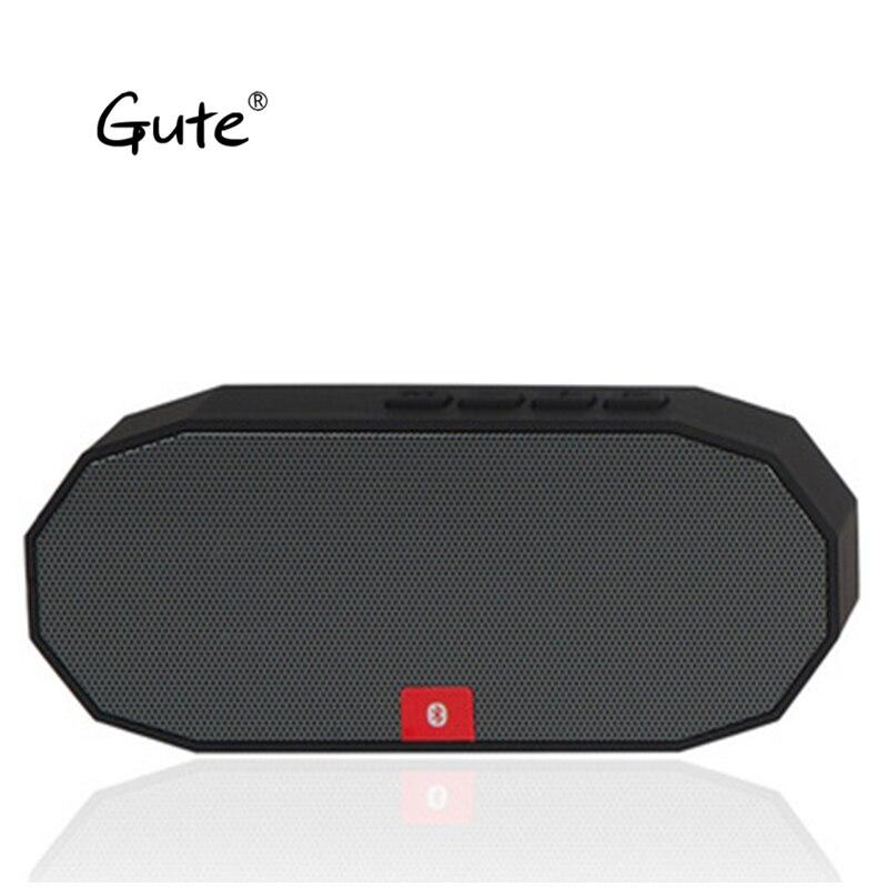 Gute Mini bocians quadrado alto-falantes BT Bluetooth altavoz Rádio portátil MP3 baixo alto falante estéreo caixa de som portatil pico jota