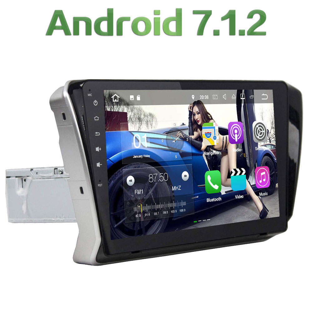 Quad Core 2GB RAM 16GB ROM Android 7.1.2 1Din Car radio FM Mp3 Player Stereo Audio for Skoda Superb 2015