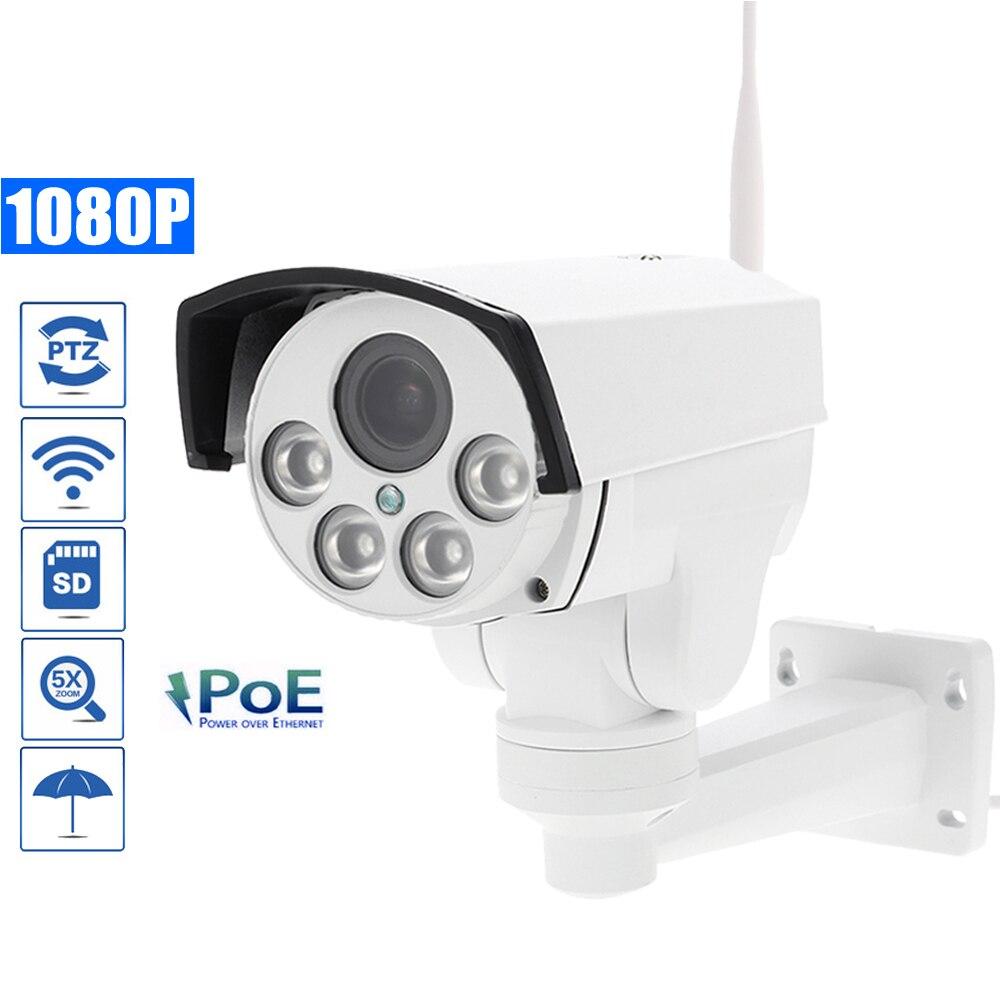 3f990bb0e49 OwlCat SONY323 HD 1080P PTZ POE IP Camera WIFI Outdoor 5X Zoom 2.7-13.5mm