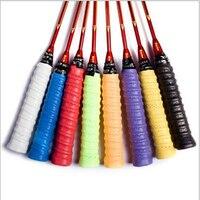 10Pcs Dry Tennis Racket Grip Anti skid Sweat Absorbed Wraps Taps Badminton Grips Racquet Vibration Overgrip Sweatband Sports