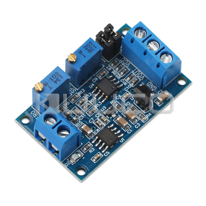 5 PCS/LOT DC 12V 24V Voltage Transmitter/Converter 4~20mA to 0~3.3V/5V/10V Current to Voltage Converter Signal Conversion Module