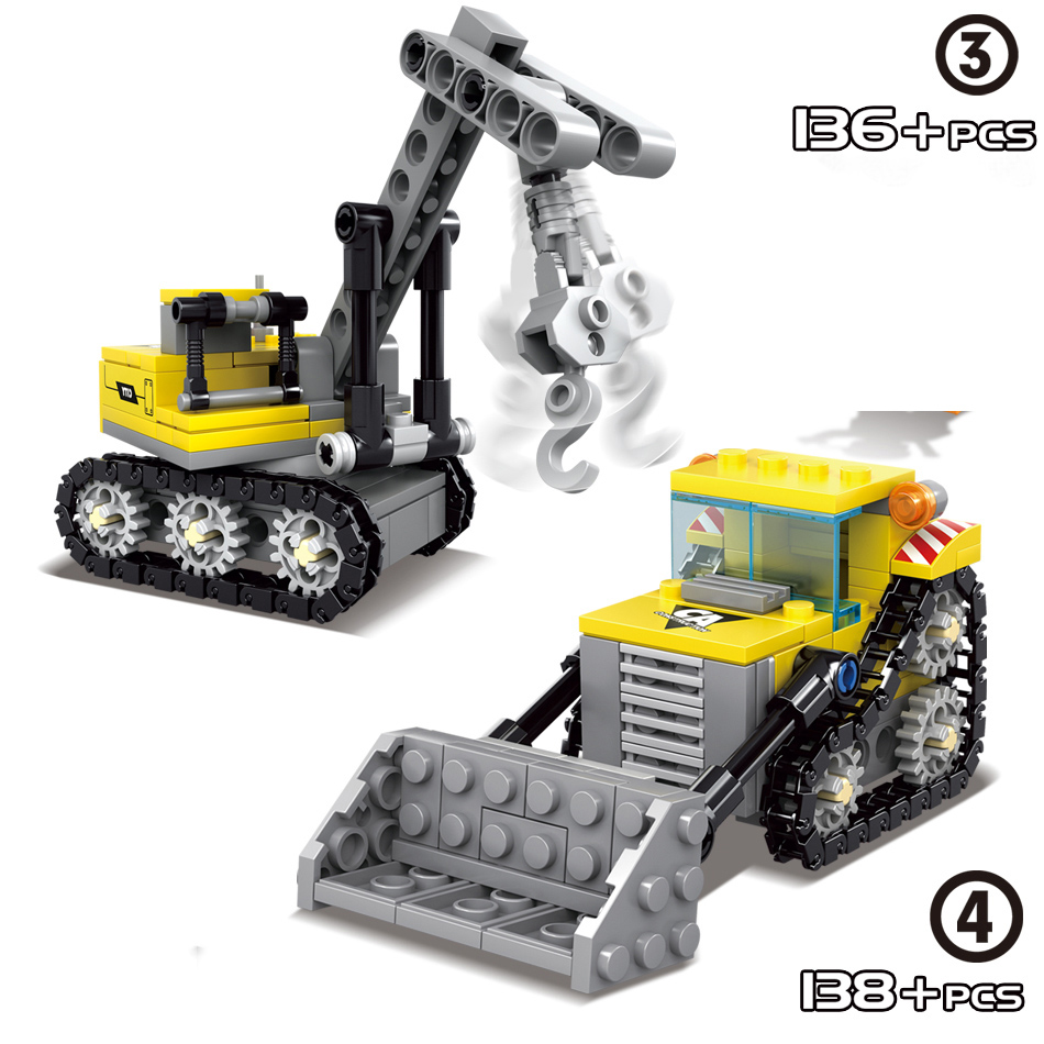 4-in1-City-Construction-Engineering-Excavator-Vehicles-Bulldozer-Building-Blocks-Technic-Bricks-Children-Educational-Toys-Gifts (4)