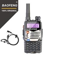 """מכשיר הקשר Baofeng UV-5RA מכשיר הקשר 5W High Power Dual Band כף יד שני הדרך Ham Radio UHF / השתמש אבטחה מקמ""""ש HF Communicator VHF (1)"""