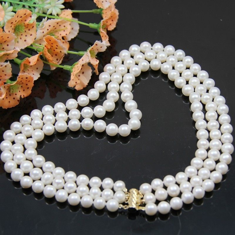 AAA 7-8mm fashion White Pink AKOYA Round Freshwater Cultured Pearl pendant Necklace set free shipping hot sell as3190 gorgeous genuine 7 7 5mm aaa round white akoya pearl necklace gift 32