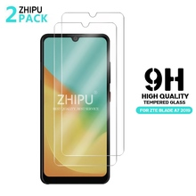 2 Pcs Tempered Glass For  ZTE Blade A7 2019 Screen Protector 2.5D 9H Tempered Glass For  ZTE Blade A7 2019 Protective Film
