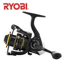 RYOBI VIRTUS angeln reel spinning 2000/3000/4000/6000/8000 4 + 1 BB 5,0: 1/5. 1:1 verhältnis 2,5-7,5 KG Power Japan reel carretilha