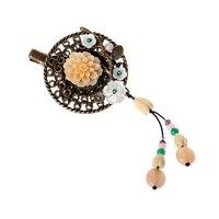 Hair Clip Tiara Women Vintage Accessories Woman Gift Chinese Style Wedding Hair Pins Ornaments Hair Charm