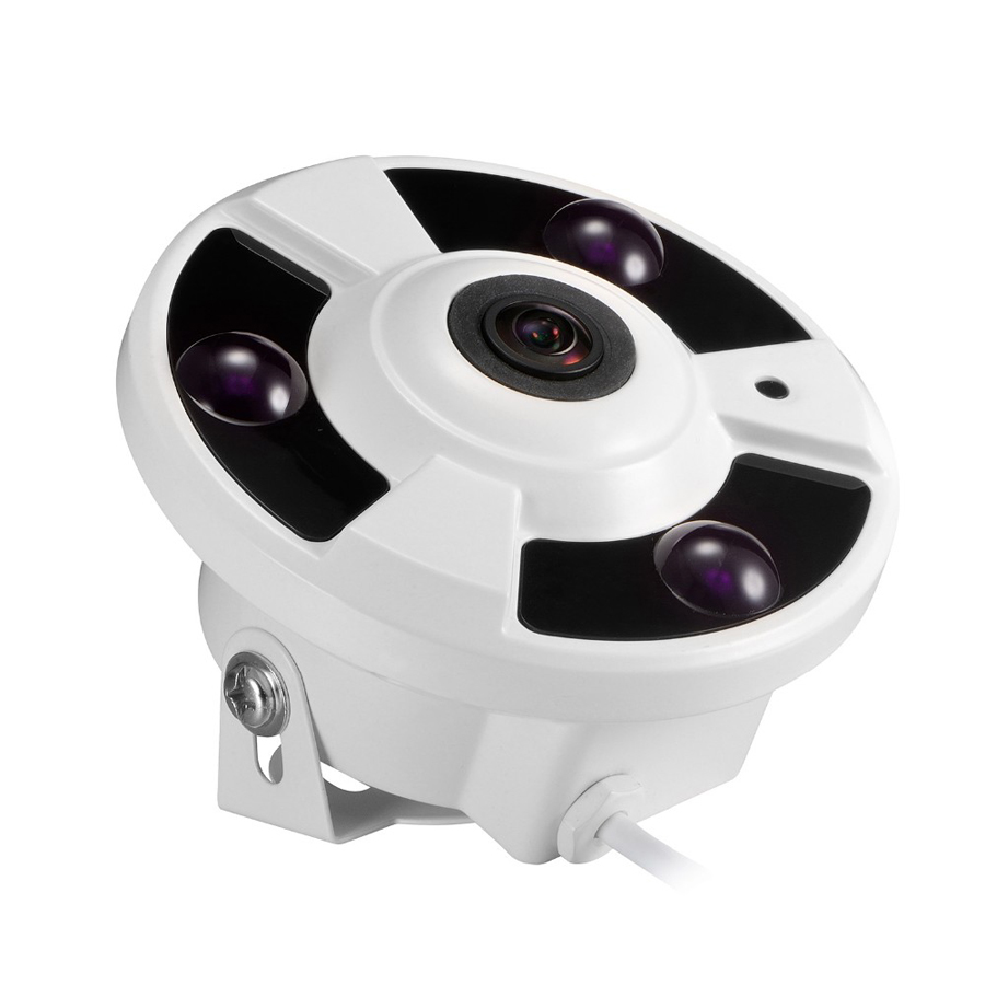 Panoramic  IP  1/3 720P   1/4960P  2/31080P(2035)  Optional IP Camera Wide Angle FishEye 5MP 1.7MM  3 ARRAY IR LED диля 978 5 88503 960 4