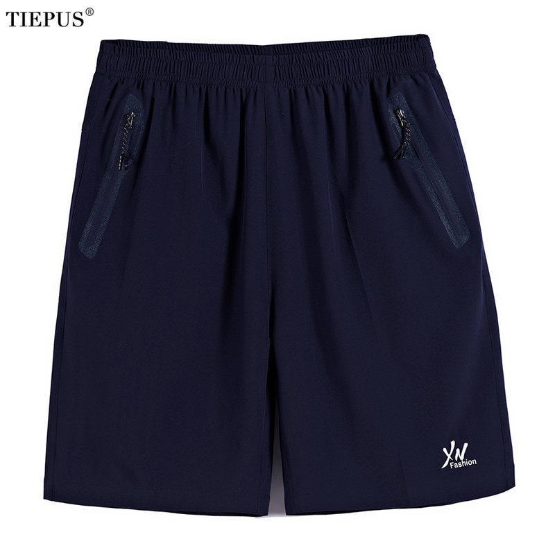 TIEPUS Plus Size 7XL,8XL,9XL,10XL Quick Drying Bermuda Masculina Men Shorts Short Homme Mens Board Shorts Sporting Sweatpants