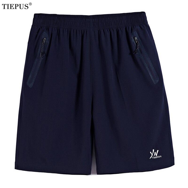 TIEPUS plus size 7XL,8XL,9XL,10XL Quick Drying Bermuda Masculina Men Shorts Short Homme Mens Board Shorts sporting Sweatpants