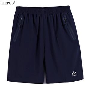 TIEPUS plus size 7XL,8XL,9XL,10XL Quick Drying Bermuda Masculina Men Shorts Short Homme Mens Board Shorts sporting Sweatpants(China)