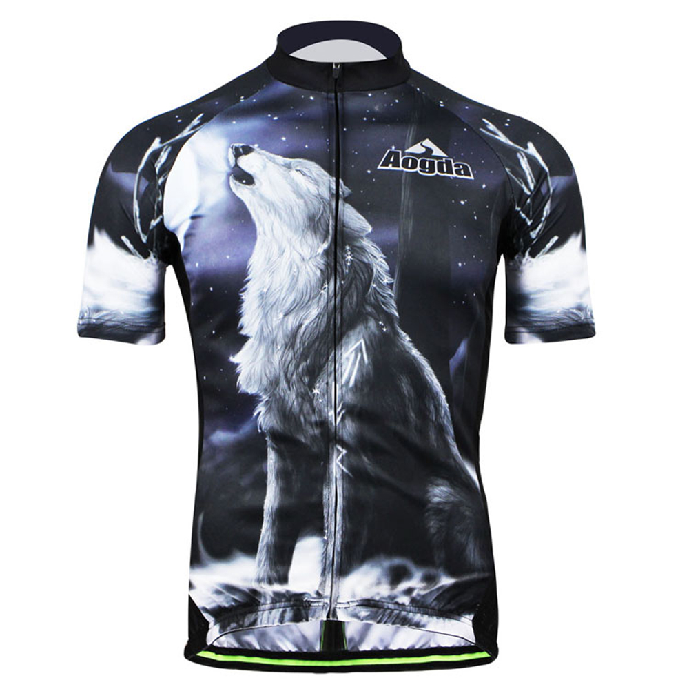 Aogda Howlin Wolf 2018 Bike Team Cycling Jersey Summer Cycling Clothing  Maillot Ropa Ciclismo Breathable MTB 893961228