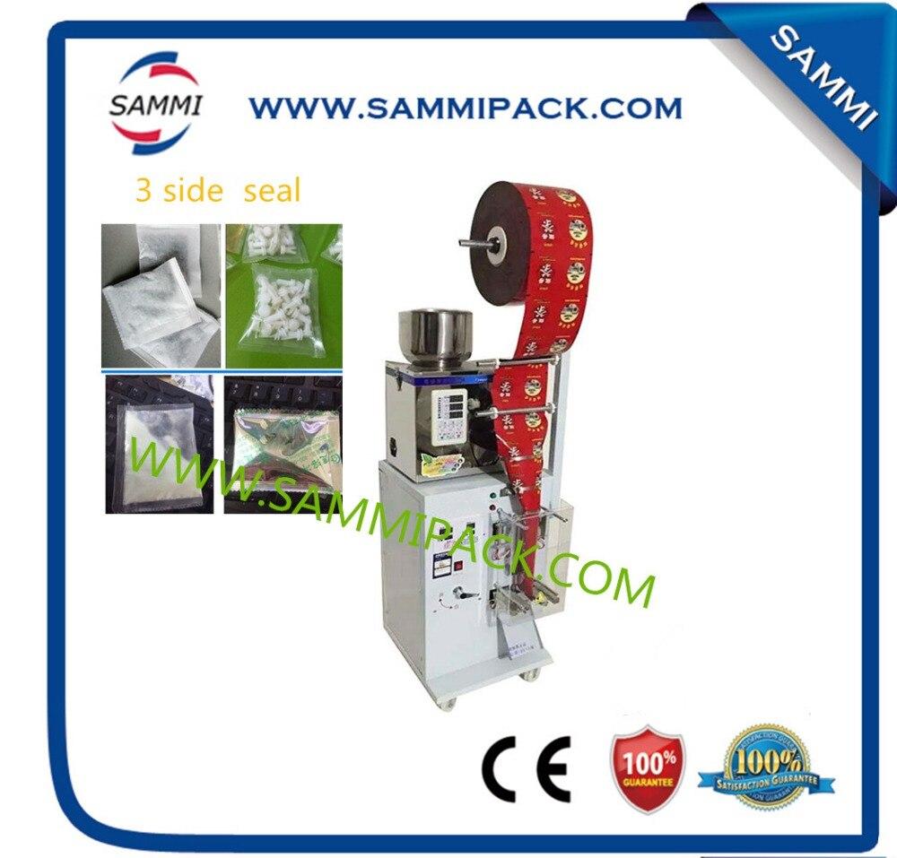 SMFZ-70 3 side seal automatic tea bag packing machine for granule, power