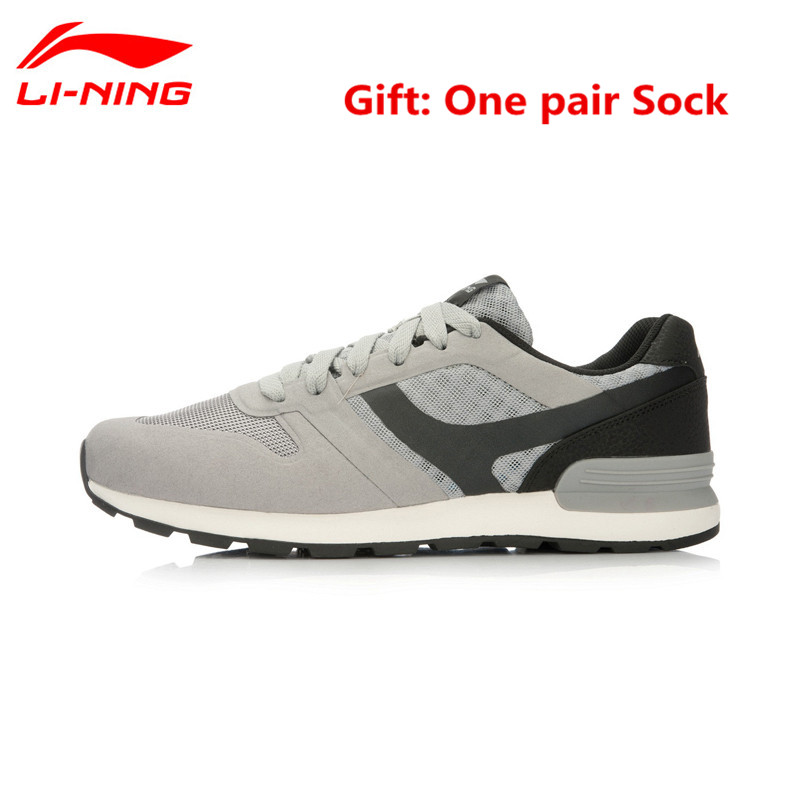 Li-Ning Big Size Men's Running Shoes Cushioning Sneakers Gym Breathable Lining Sports Man's Jogging Walking Shoe Lightweight original li ning men professional basketball shoes