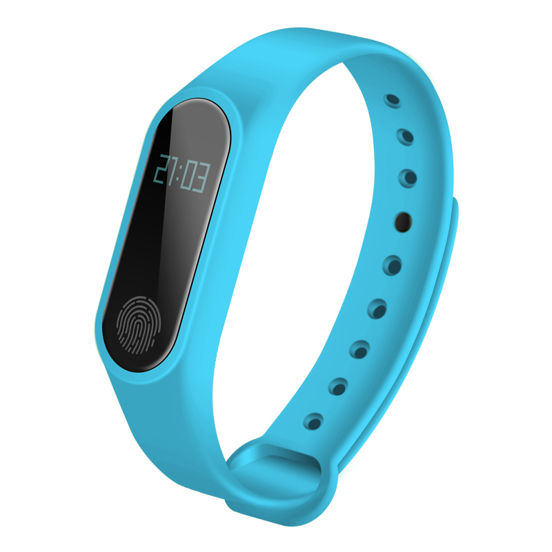 M2 Wristband Bracelet Smart Heart Rate Monitor Fitness Tracker Touchpad Bluetooth Smart band add a strap for Android iOS Iphone-in Remote Controls from Consumer Electronics
