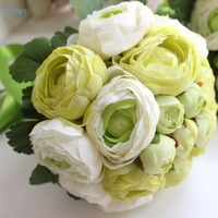 BRITNRY New Arrival Bridal Bouquet Roses Wedding Bouquet for Brides Real Pictures Cheap Bride Bouquet Custom Made