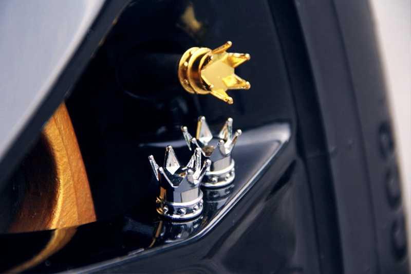 1 قطعة إطار سيارة صمام تاج الإطارات عجلة الاطارات صمام الهواء صمام قبعات الغبار عجلة قبعات سيارة شاحنة دراجة نارية اكسسوارات