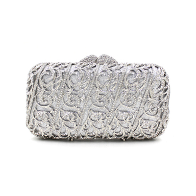 Women Diamond-studded party Evening Clutch Bag Vintage Luxury Female Rhinestone Banquet Diamond Party Bags red/gold/silverWomen Diamond-studded party Evening Clutch Bag Vintage Luxury Female Rhinestone Banquet Diamond Party Bags red/gold/silver
