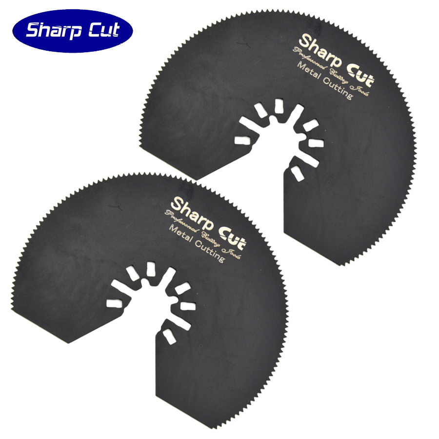 ▽5 paquete 80mm semicírculo flush segmento herramienta multi ...