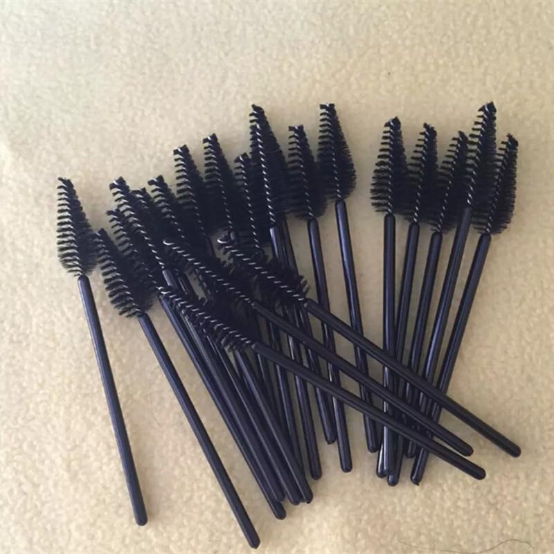 1000pcs lot Disposable eyelash mascara brush roll eyebrow brush eye brush spiral Spot beauty make up