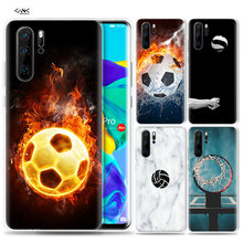 Case voor Huawei P30 P20 P10 P9 Mate 10 20 Lite Pro Mobiele Telefoon Tas P Smart Z 2019 plus Basketbal Voetbal Volleyba(China)