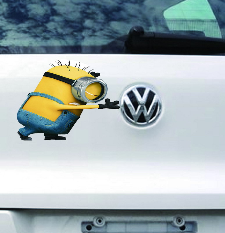 Car Styling Picture More Detailed Picture About Stickers Car - Minion custom vinyl decals for car