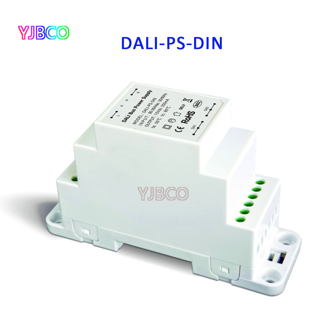 DALI-PS-DIN;DALI Bus Power supply(DIN Rail);100-240VAC 50/60Hz input,15VDC 200MA output DALI Dimming Driver for LED Lights ltech dali ps din dali bus power supply din rail 100 240vac 50 60hz input 15vdc 200ma output dali dimming driver for led lights