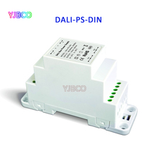 DALI PS DIN;DALI Bus Power supply(DIN Rail);100 240VAC 50/60Hz input,15VDC 200MA output DALI Dimming Driver for LED Lights