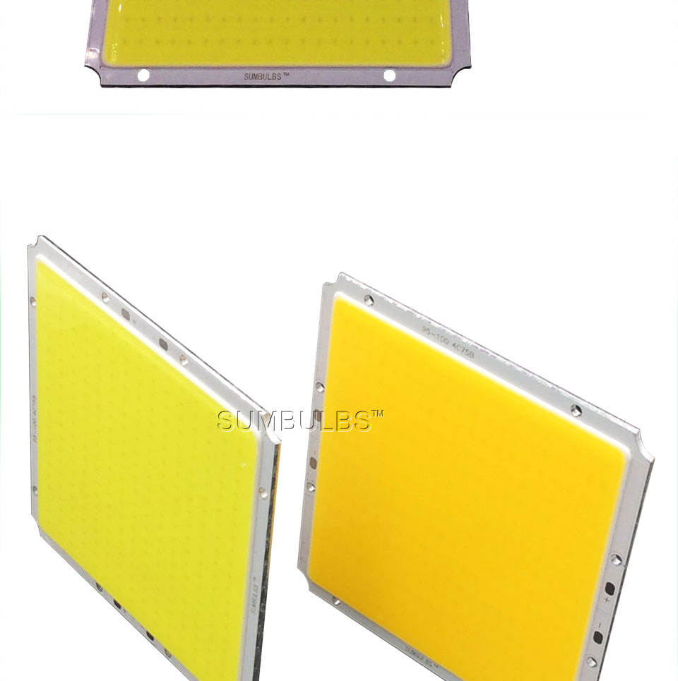 Sumbulbs 100x95mm Square Ultra Bright 50w Cob Led Light Lamp 5000lm How To Build Rectangle Matrix Dc 12v 14v 3000k 6500k Warm