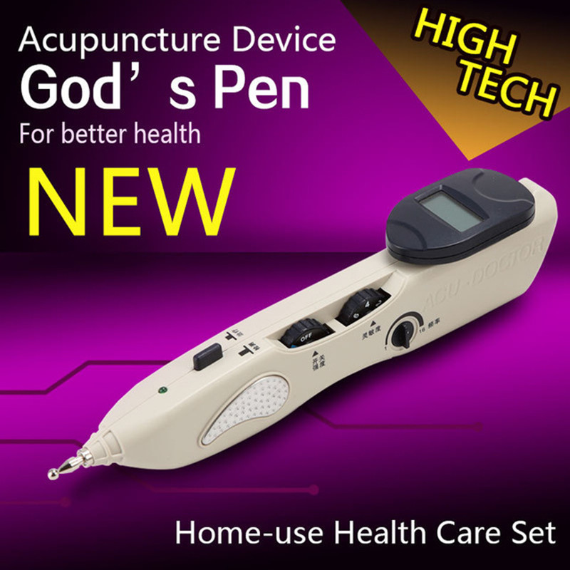 ФОТО LY-508b Electronic acupuncture pen Electric meridians Laser Acupuncture machine Magnet Therapy instrument Meridian Energy Pen