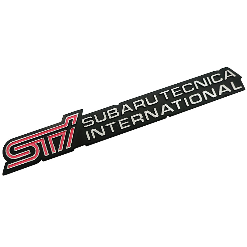Metal Car Styling STI Sticker Car <font><b>Door</b></font> Tail Decal STI Emblem Badge for <font><b>SUBARU</b></font> LEGACY Forester <font><b>Outback</b></font> Rally WRX WRC XV Impreza image