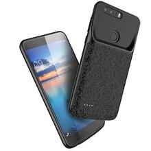 Silm סיליקון עמיד הלם סוללה מקרה עבור Huawei Honor 8 לייט 7X 8X כוח בנק מטען Case כריכה האחורית עבור huawei Honor 9