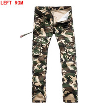 2017 Spring New Cotton Cargo Pants   Good Quality Military Cargo Pants Men Hot Camouflage Cotton Men Trousers