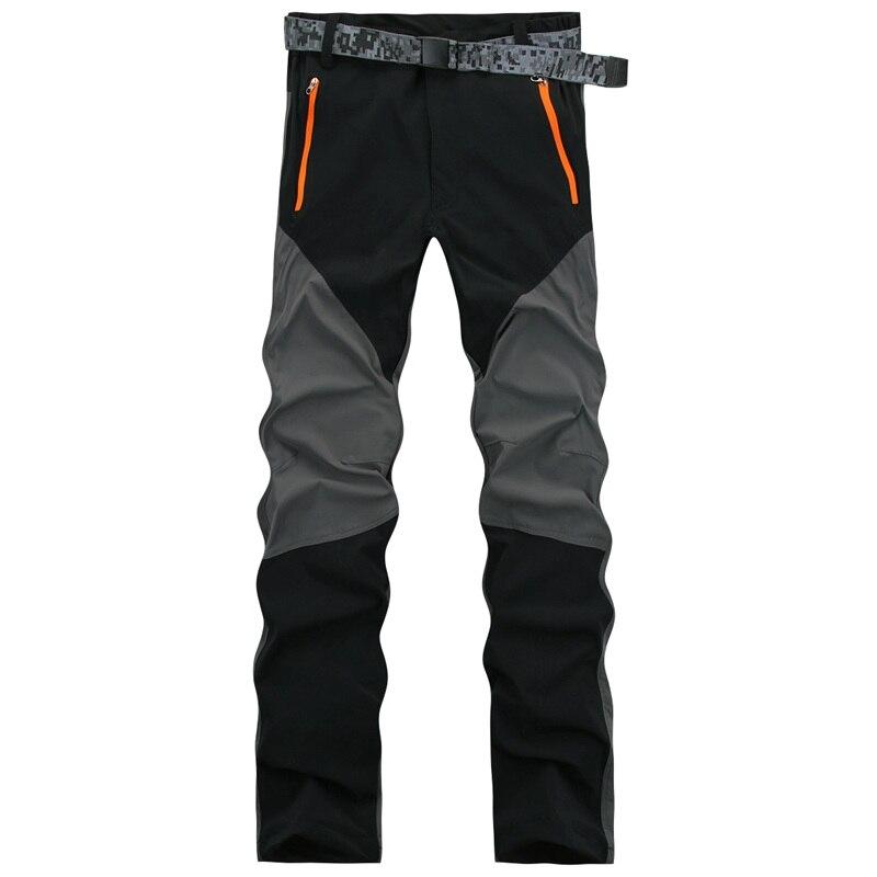 Dropshipping Yeni 2016 Yaz Bahar Elastik Pantolon Erkek Açık Spor Seyahat Pantolon dağ yürüyüş Tırmanma pantolon erkekler