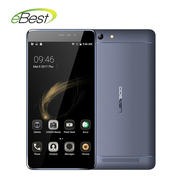 New Original Leagoo Shark 5000 3G 5.5 inch mobilephone 13.0MP 1GB RAM+8GB ROM 5000mAh Battery 720p MT6580A Quad Core cellphone
